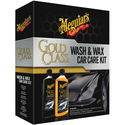 Kit sampon&ceara WASH AND WAX GOLD CLASS CAR CARE KIT